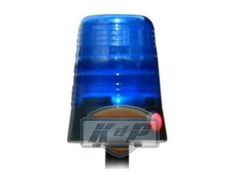 Luz AZUL de emergencia azul POLICIA. BERG Blue lens flash light