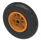 Rueda Completa naranja wheel orange 400/100-8 radiall symmetric