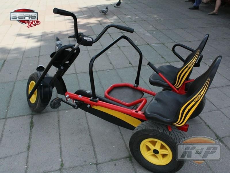 Triciclo Para Adultos Berg Sun Set Af Inspirado En Moto