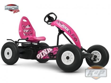 BERG Compact Pink BFR. El kart a pedales que todas las niñas querrán conducir.