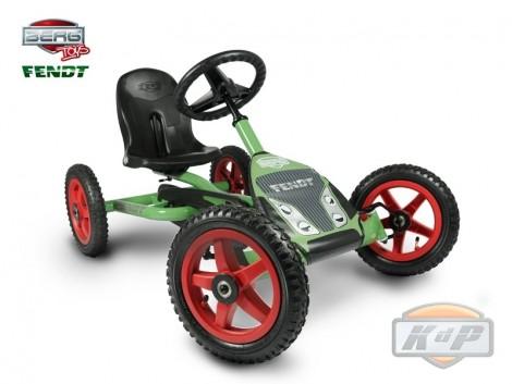 BERG Buddy Fendt es el tractor todoterreno a pedales perfecto para los niños