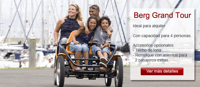 Bicicletas familiares para empresas de alquiler