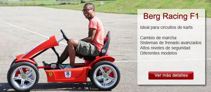 Coches a pedales para adultos y niños