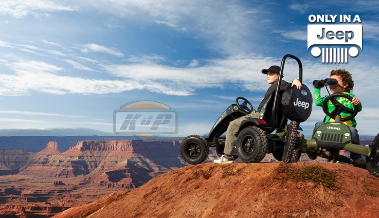 Coche a Pedales Jeep Berg Go Kart