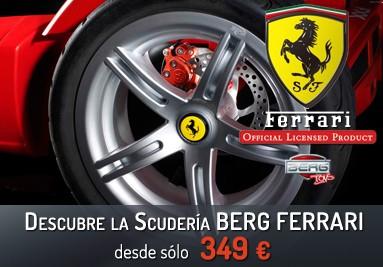 Coches a pedales Berg Ferrari desde 349 eur con envío gratis