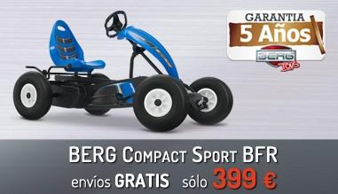 Berg Compact Sport Bfr con 5 años de garantía por 399 eur y portes gratis